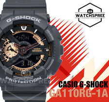 Casio G-Shock Rose Gold Color Accented Model-GA-110RG Series Watch GA110RG-1A