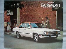 Ford USA Fairmont brochure 1979