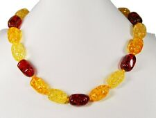 Gorgeous imitierter Amber Chain Freeform