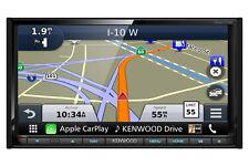 "Kenwood DNX773S Car In Dash Navigation 6.95"" Screen Bluetooth Apple CarPlay HDMI"