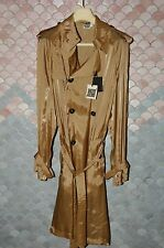"Jean-Paul Gaultier ""Gaultier Square"" Rainwear, L, NOS, Mint , Sand Brown"