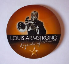 LOUIS ARMSTRONG LEGENDS OF MUSIC CD ALBUM IN DESIGNER TIN - VERY GOOD CONDITION