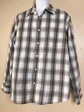 Urban Pipeline Men Size XL Plaid Button Front Long Sleeve Soft NWT
