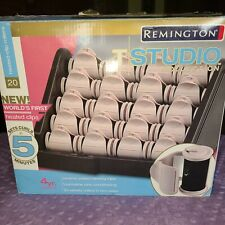 Remington T Studio Collection H-2050  20 Velvety Hot Rollers W/ 20 Clips. READ