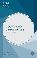 Focus on Social Work Law: Court and Legal Skills by Penny Cooper (2014,...