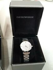 Emporio Armani AR1925 Silver Glitz Wrist Watch for Women