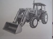 John Deere 260 Farm Tractor End Loader Operators Manual