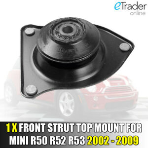 FOR BMW MINI R50 R52 R53 FRONT SUSPENSION STRUT TOP MOUNT & BEARING 2001 - 2007