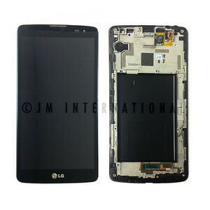 LG G Vista D631 VS880 LCD Touch Screen Digitizer Assembly with Frame Black USA