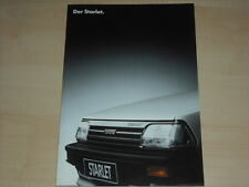 61210) Toyota Starlet Prospekt 06/1987