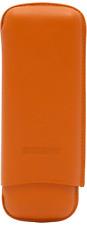 Martin Wess Astuccio Sigari 571 Dante Orange - 2 Gigante - Bestiame pelle di