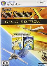 Microsoft Flight Simulator X - Gold Edition FSX, PC Games, New, Free Shipping
