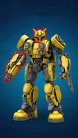 Lego Compatibil100% 3500p►MOC ROBOT Transformer BUMBLEBEE◄BULKBOX►270x145x445mm