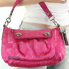 NEW Coach Poppy Groovy Demi Shoulder Bag Hand Bag Crossbody 15302 Pink New RARE