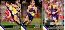 2011 Select AFL Champions Cards Base Card Team Set (11)-West Coast