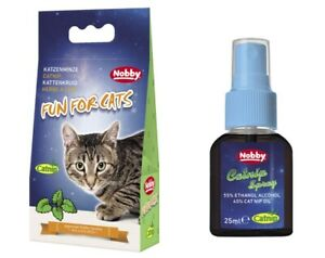 Katzenminze Catnip getrocknet oder als Spray