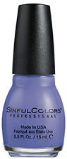 SINFUL COLORS Nail Polish FREE AND FIERCE 4th Of July PATRIOTIC New *YOU CHOOSE*