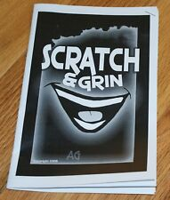 Scratch and Grin -- Andrew Gerard's prediction using real lotto tickets     TMGS