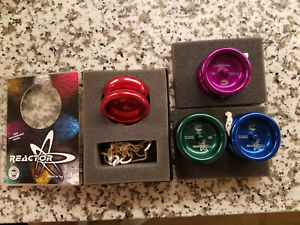Custom Yo-Yo Reactor Mini Butterfly Aluminum yoyo