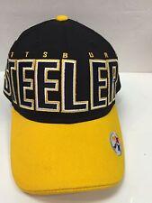 Rare! ~Pittsburgh Steelers~ *REEBOK* OSFM SNAPBACK Stitched Hat Ballcap NWOT!