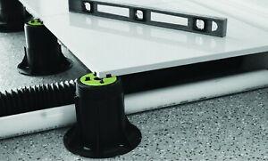 Stelzlager Plattenlager 25-40 mm Platte Keramik Terrasse inkl. Gummiträger