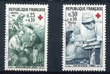 STAMP / TIMBRE FRANCE OBLITERE N° 1508/1509 CROIX ROUGE