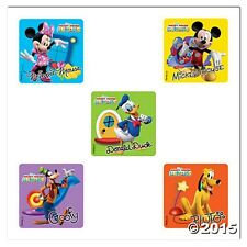 Mickey Mouse Stickers x 5 - Birthday Party Favours - Loot Bags Minnie Clubhouse