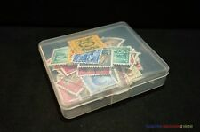 1 x New Stamp Storage Box Case (7.3 x 6.3cm) Philately Stamp Collection Supplies
