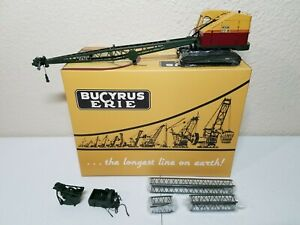 Bucyrus-Erie 22-B Crane, Clam, Dragline Metal Tracks - EMD 1:50 Scale #T003 New!