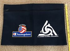 Rare Champion Usa Volleyball Coaches' Bag - Clutch - Us Junior Olympic Vb - Wow!