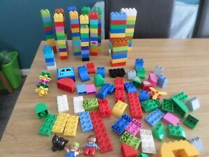 DUPLO  LEGO MIXED  LOT 180 PIECES BRICKS PARTS PIECES  FREE POST UK