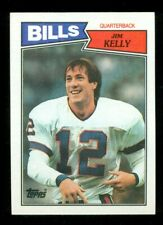 1987 Topps #362 Jim Kelly RC - MINT