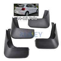 Molded MudFlaps Fit For VW Polo 6C 2015 2016 Mud flaps Splash Guards Mudguards