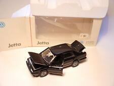 Volkswagen VW Jetta Mk II 2 in schwarz negro noir black, Schabak 1:43 DEALER VSC