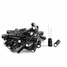 PCB Mount Polarised Aluminium Electrolytic Capacitor 35V 100uF 6.5mmx12mm 46Pcs