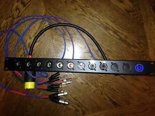 DJ audio patch bay , Rackmount, Amplifier , Patchbay , Xlr