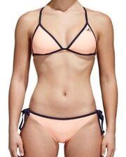 "Adidas Ladies Peach Tie Side Bikini Swimsuit Costume BNWT Size 32"""