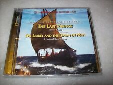 CD - THE LAST VIKINGS / DR. LEAKEY AND THE DAWN OF MAN-LIMITED-INTRADA-SEALED