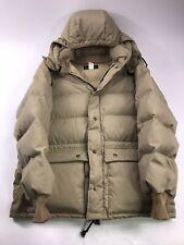 Vtg Eddie Bauer  Down Full Length Coat Jacket Parka Hood Mens Small fur hooded