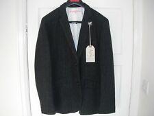 "Heritage Research Sports Jacket grey stripe wool XL 23"" p2p BNWT"