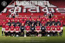 Manchester United FC POSTER-TEAM 17/18 - New Man Utd Calcio POSTER SP1478