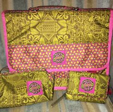 £50 Used Twice Oilily Designer Laptop Backpack , Pencil Case & Wallet Seta