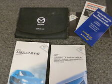 2011 Mazda RX-8 Coupe Owner Manual User Guide Book R3 Sport Grand Touring 1.3L