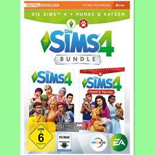 Die Sims 4 Hauptspiel + Hunde & Katzen Cats & Dogs bundle PC Key EA Origin Code