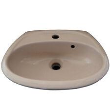 Keramag Elbe Handwaschbecken 46 cm Beige Waschbecken Waschtisch Bahamabeige