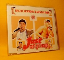 MAXI Single CD Charly Lownoise & Mental Theo Just Can't Get Enough 5TR 1997 MINT