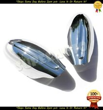 FULL CHROME MIRROR COVERS FOR 2002 2003 2004 2005 2006 NISSAN ALTIMA