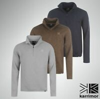 Mens Karrimor Warm Life Fleece 1/4 Zip Neck Jumper Sizes S M  L XL XXL