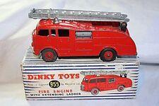 DINKY 955 Autopompa con estensione scaletta, buone condizioni nella scatola originale