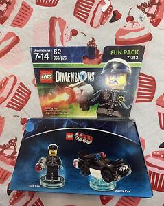 Lego Movie Dimensions Fun Lack 71213 Bad Cop & Police Car New